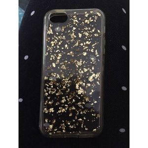 Accessories - iPhone SE/5s/5c Gold Speckled Case